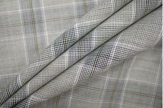 Тонкая костюмная шерсть в клетку PRT-T5 11071927