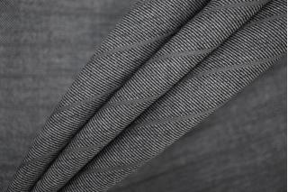 Костюмная шерсть серая в полоску PRT-G4 11071932