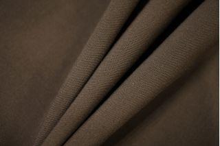 Плательный хлопок с шерстью ненасыщенно-коричневый PRT- 041 D4 11071939