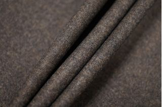 Твид коричневый шерстяной PRT-E3 12071905