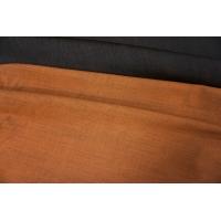 Костюмная шерсть двусторонняя черно-оранжевая PRT-G4 12071914
