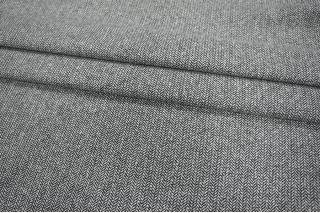 Твид черно-белый елочка с люрексом PRT-R3 16011901