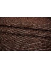 ОТРЕЗ 1,25 М Шерсть пальтовая черно-рыжая PRT-M5 16011917-1