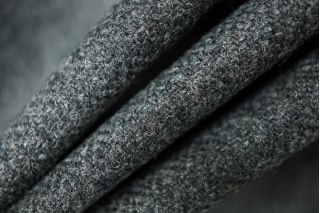 Твид елочка темно-серый PRT 082-K5 16011924