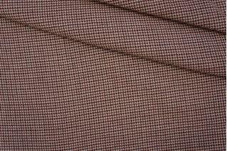 ОТРЕЗ 2.4 М Лен тонкий костюмно-плательный пепита PRT-G5-110 10061925-2