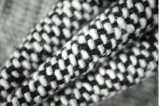 Твид черно-белый PRT 083-K3 18011901