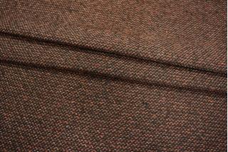 Костюмная рогожка коричневая PRT1-O6 18011908