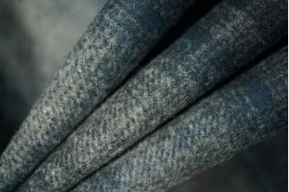 Костюмная шерсть в клетку синяя PRT-O3 18011926