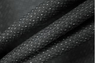 Костюмная шерсть черная в точку PRT-S2 15011918