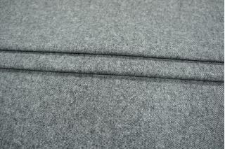 Костюмный хлопок диагональ черно-белая PRT-P6 15011956