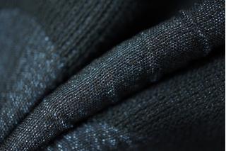 Жаккард хлопковый в крупный горох синий PRT-P5 18011922