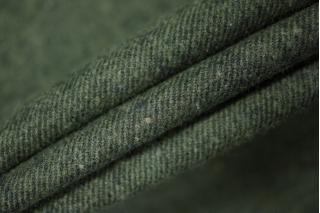Костюмный хлопок диагональ черно-зеленая PRT-N6 19011903
