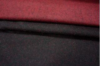 Шерсть двусторонняя черно-бордовая PRT-N2 210109
