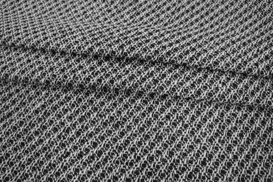 ОТРЕЗ 0.85 М Твид черно-белый PRT-M3 24011908-1