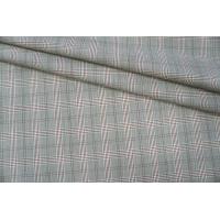 Тонкая костюмная шерсть в клетку PRT-W4 12041917