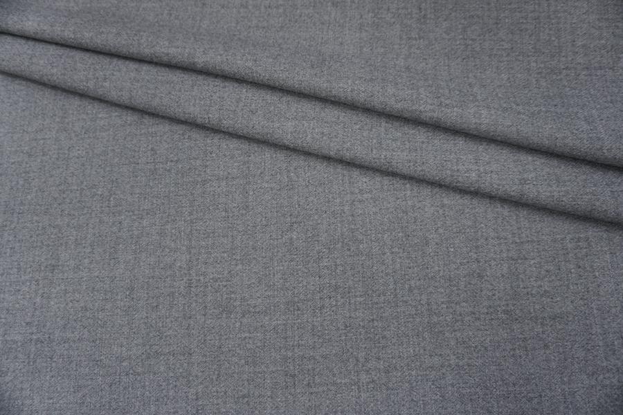 ОТРЕЗ 2,5 М Плательная шерсть серая PRT-(51)- 12071919-1