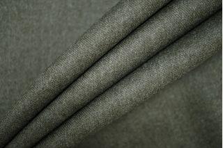 Костюмная шерсть темно-зеленая PRT-G4  12071927