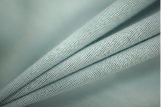 Трикотаж рибана футболочный светло-мятный PRT-D2 05051907