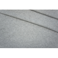 ОТРЕЗ 0.7 М Футер хлопковый серый меланж PRT-D2 06061935-1