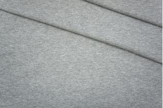 Футер хлопковый серый меланж PRT-D2 06061935