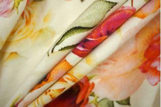 Трикотаж хлопковый розы PRT-D2 06061946