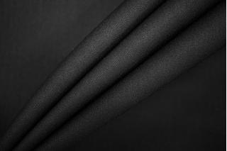 Тонкая костюмно-плательная шерсть черная PRT-034-Е5 13071923