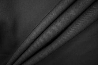 Тонкая костюмно-плательная шерсть черная PRT- 127 J5 14071909