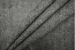 Твид черно-серый шерстяной PRT-Е4 14071913