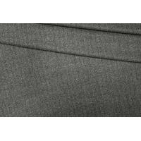 Твид черно-серый шерстяной PRT- 124 I6 14071913