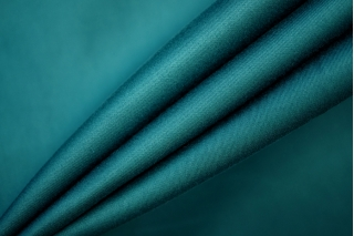 Сатин костюмно-плательный темно-бирюзовый PRT-B5 05061901