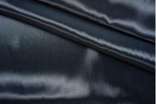ОТРЕЗ 2,8М Подкладочная ткань-стрейч черно-синяя PRT К2 27041903-1
