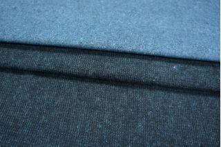 Костюмный хлопок сине-голубой с начесом PRT-N3 15011952