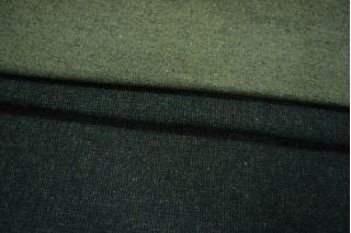 Костюмный хлопок зеленый с начесом PRT-P6 28011901