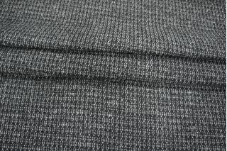 Шерсть пальтовая черно-серая PRT-S2 28011907
