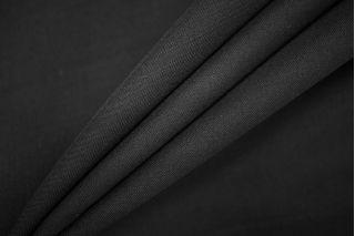 Тонкая костюмно-плательная шерсть черная PRT-T5 13071912
