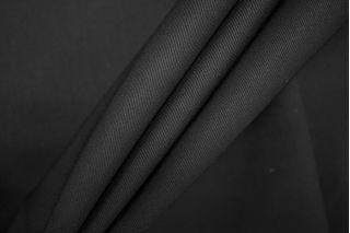 Тонкая костюмно-плательная шерсть черная PRT-T5 13071913
