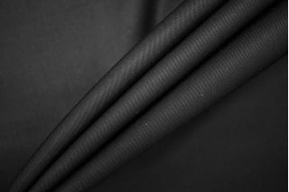Тонкая костюмно-плательная шерсть черная PRT-Е5 13071921