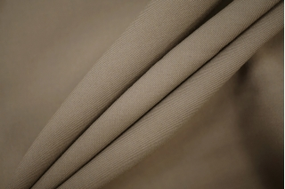 Костюмно-плательная вискоза с шерстью серый хаки PRT-Z3 13071924