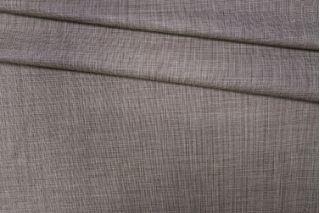 Тонкая костюмная шерсть бело-коричневая PRT- 125 T5 13071929
