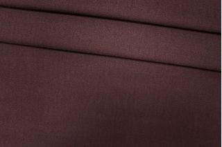 Креп вискозный с шерстью бордово-коричневый PRT-Z3 14071901
