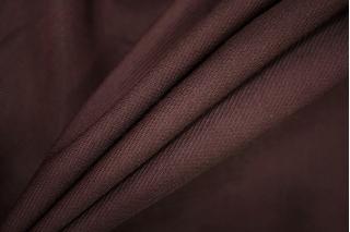 Диагональ вискозная с шерстью бордово-коричневая PRT-Z3 14071902