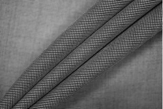 Костюмно-плательная шерсть черно-белая PRT- 125 I6  14071905