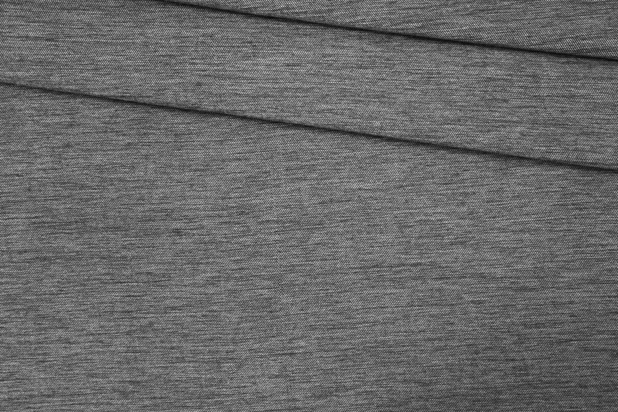 Костюмная шерсть черно-серая PRT-F2 14071911
