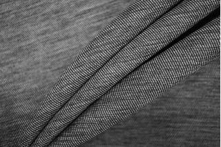 Костюмная шерсть черно-серая PRT- 123 I6 14071911