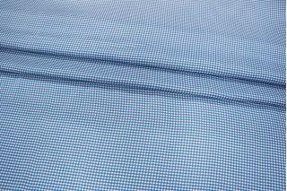 Блузочный хлопок с шелком в клетку Fendi PRT-D5 10121810