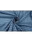 Рубашечный плотный хлопок в клетку синий PRT-B50 10121824
