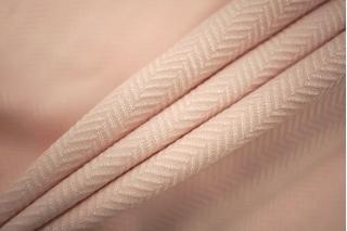 Трикотаж елочка поливискозный светло-розовый PRT-N2 05061806