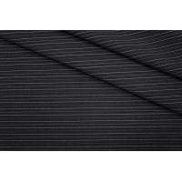 Костюмно-плательная ткань черная в полоску PRT-M4 25041906