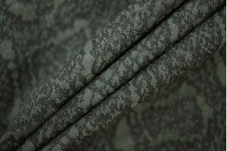Костюмная поливискоза рептилия серо-зеленая PRT-M2 25041910