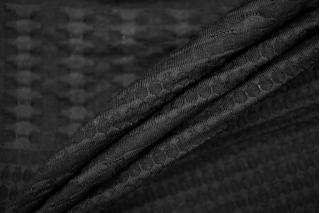 Трикотаж фактурный черный PRT-M3 26041915